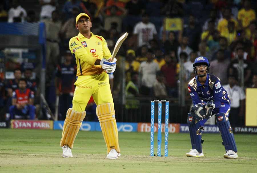 Chennai Super Kings MS Dhoni During An IPL 2018 Images