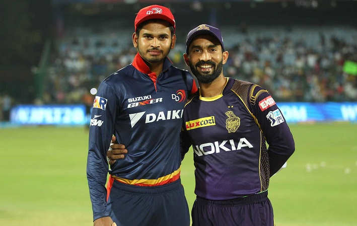 Kolkata Knight Riders opt to bowl vs Delhi Daredevils