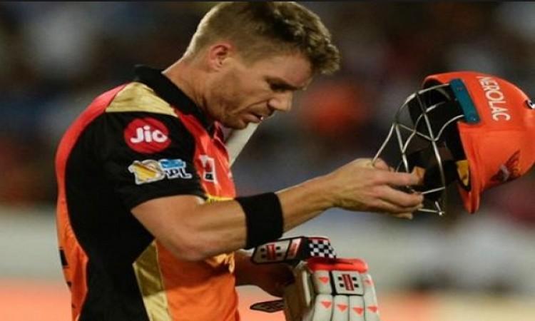 आईपीएल 2018 में नहीं खेलने का दर्द इस तरह से दिखाया डेविड वॉर्नर ने