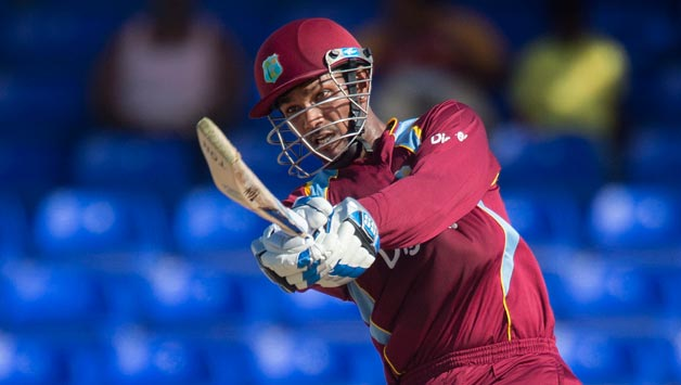 West Indies score 153/6 against pakistan in third T20I