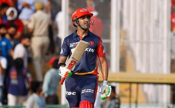 Gautam gambhir equals David Warner record of most fifties in IPL