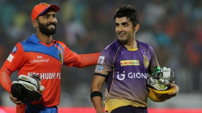 Kolkata knight riders captain dinesh karthik