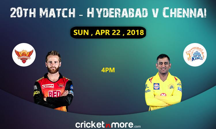Hyderabad vs Chennai