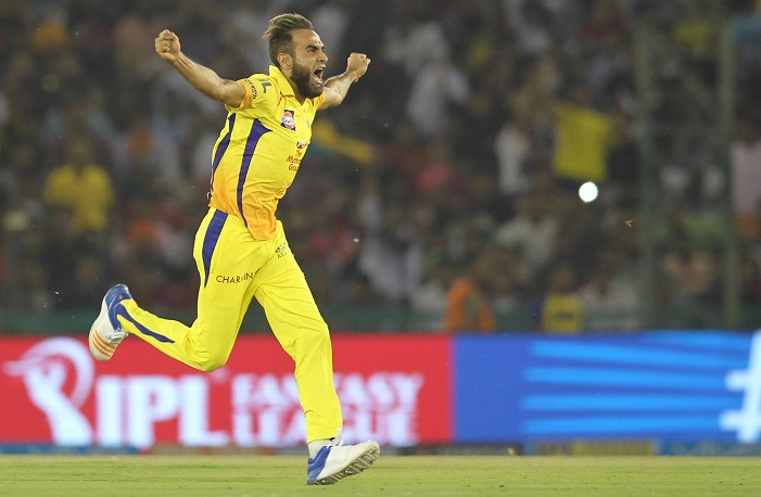 Imran Tahir Complete 50 wickets in IPL
