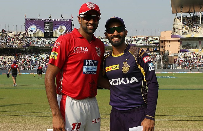 Kings XI Punjab have won the toss and have opted to field vs KKR
