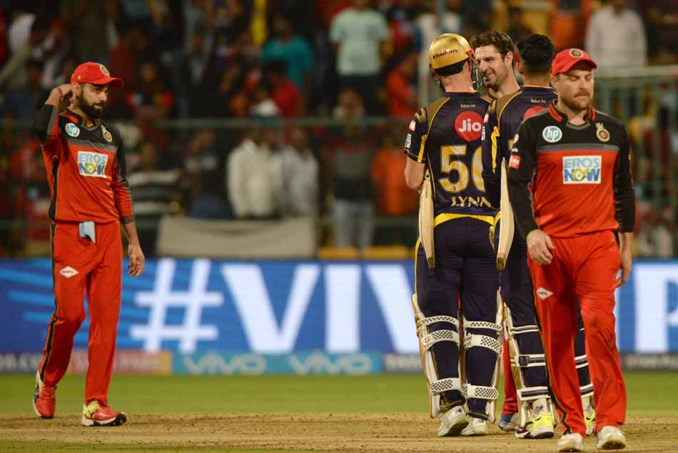 Kolkata Knight Riders Chris Lynn And Shubman Gill Celebrate After Winning An IPL 2018 Match JPG Imag