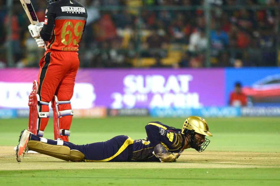 Kolkata Knight Riders Dinesh Karthik During An IPL 2018 Images