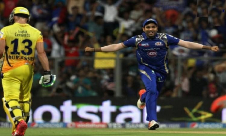 मुंबई इंडियंस और चेन्नई सुपरकिंग्स