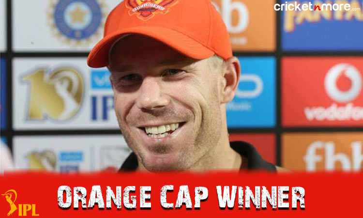 Orange Cap Winners