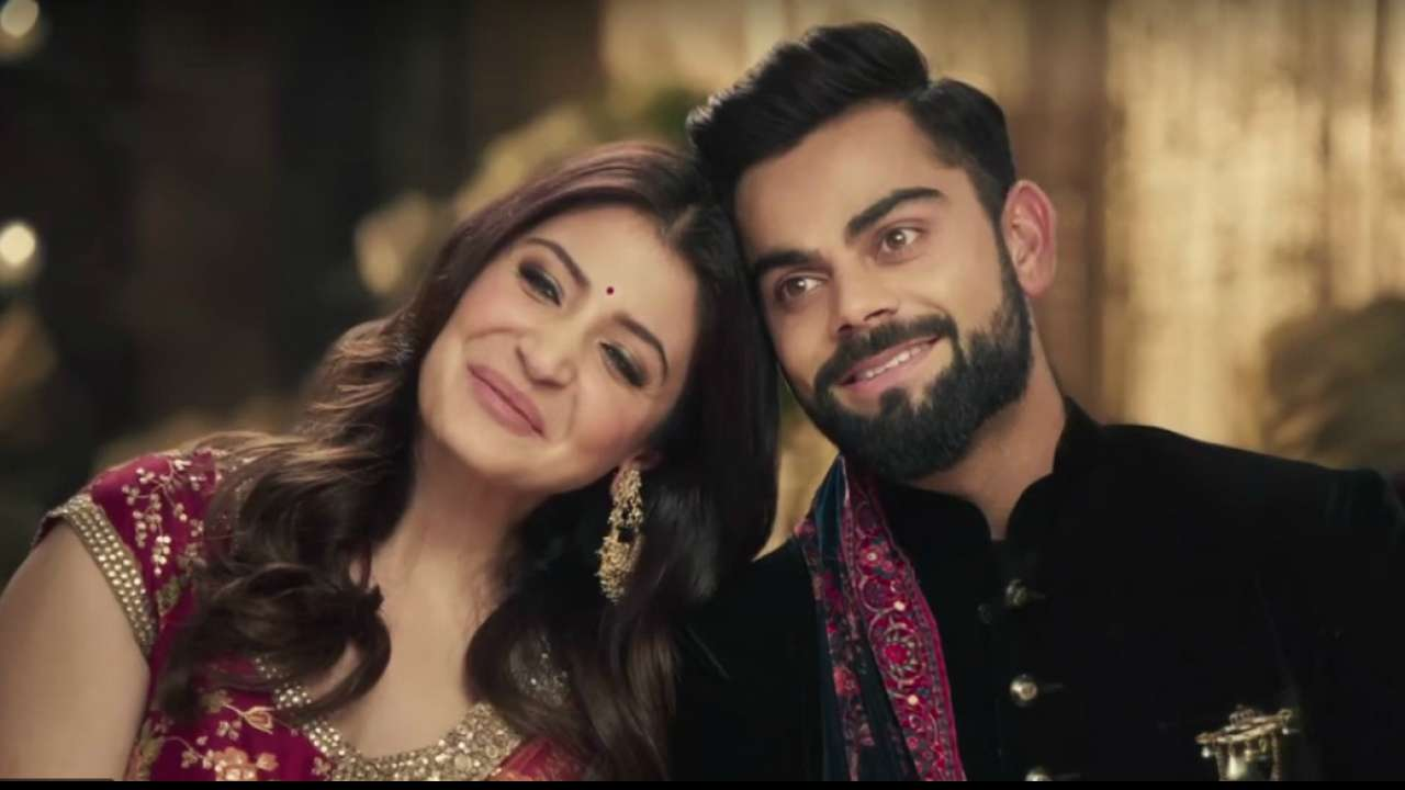 RCB Captain Virat Kohli  His Wife Anushka Sharma Images