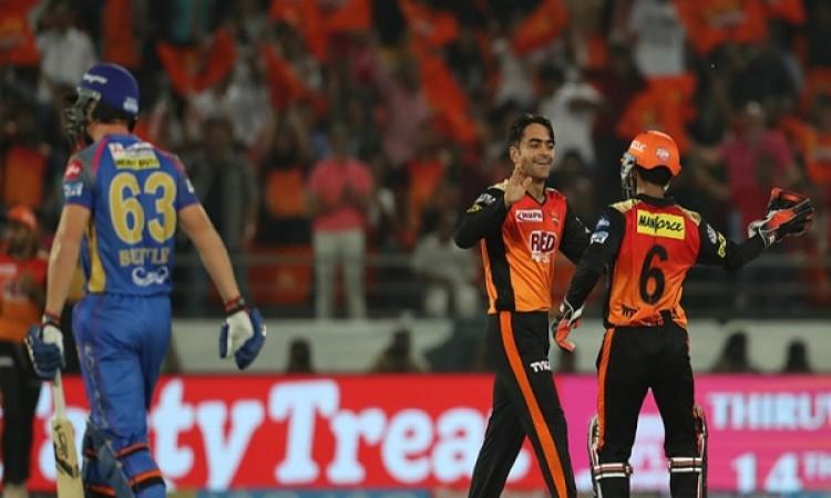 सनराइजर्स हैदराबाद की टीम को जीत के लिए 126 रन की दरकार