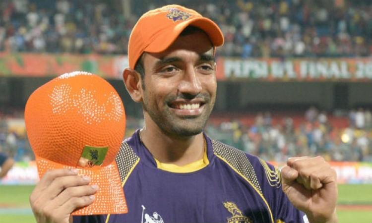 ROBIN UTHAPPA complete 500 runs against Chennai Super Kings