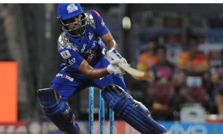 आईपीएल 2018 के पहले मैच में रोहित शर्मा फ्लॉप, बना गए ये अनचाहा रिकॉर्ड