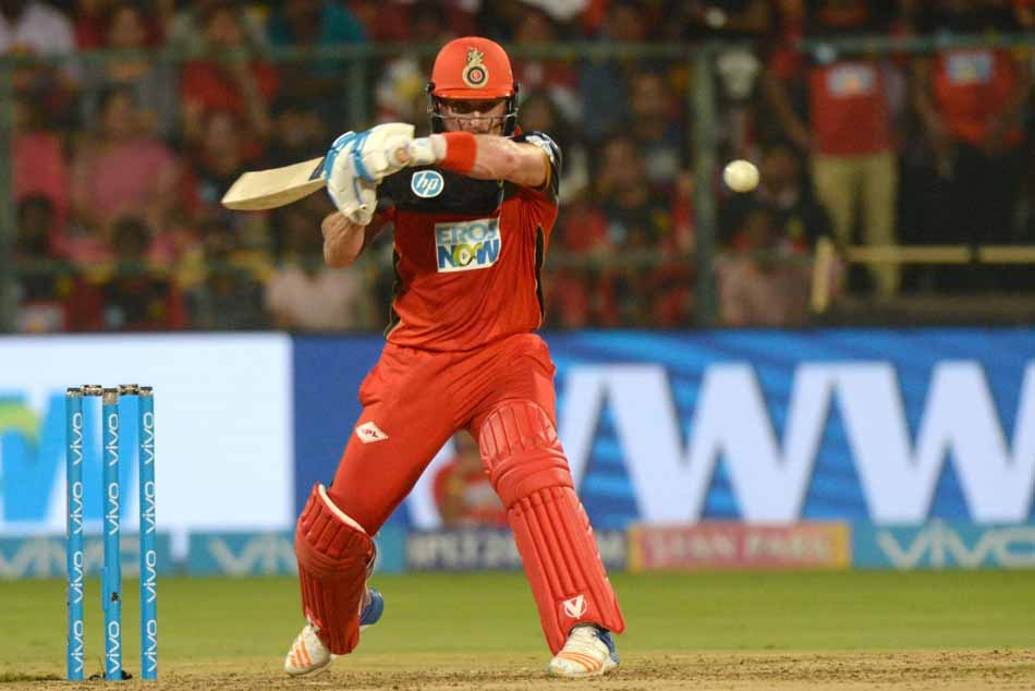 Royal Challengers Bangalores Brendon McCullum In Action During An IPL 2018 Match Images