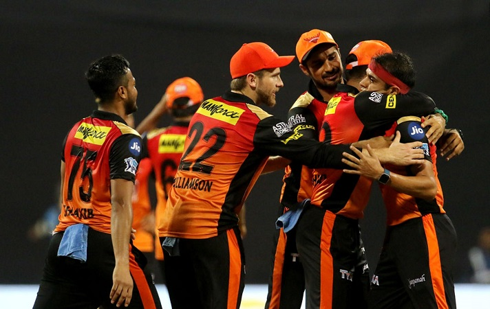 Sunrisers Hyderabad beat Mumbai Indians by 31 runs