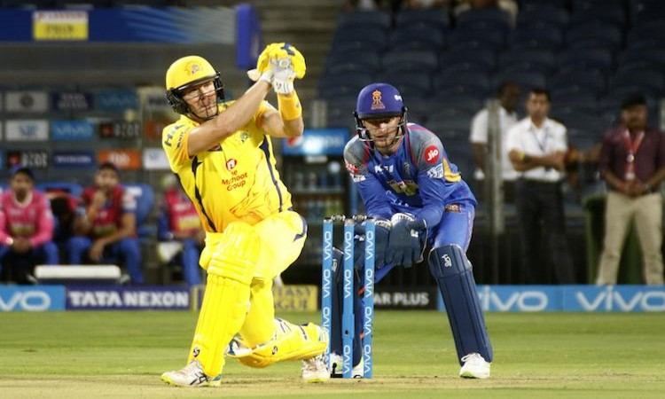 Image result for IPL: Chennai crush Rajasthan by 64 runs