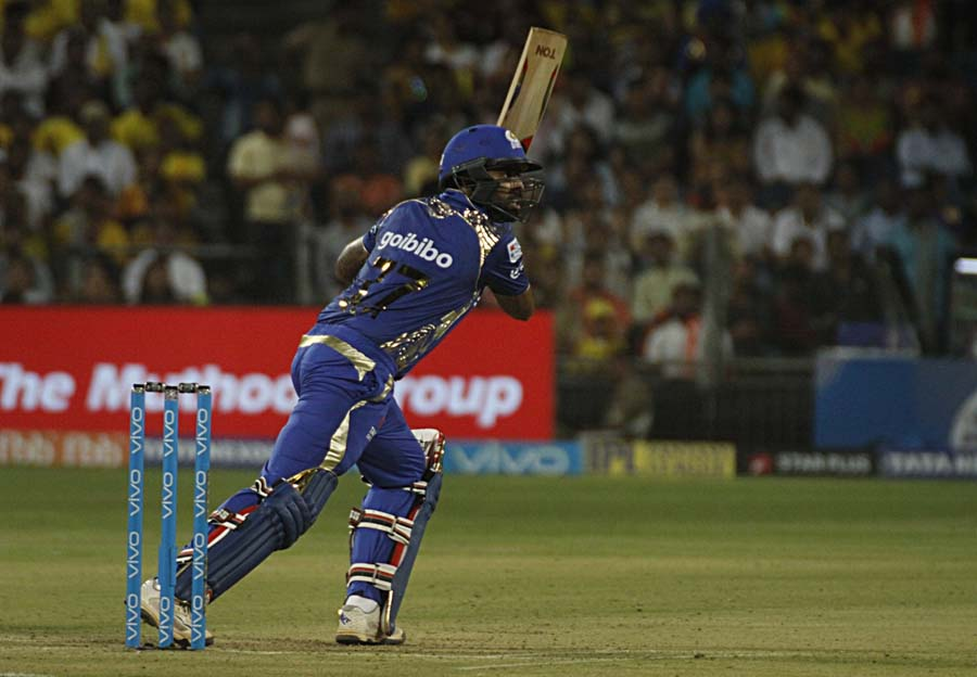 Suryakumar Yadav Of Mumbai Indians In Action During An IPL 2018 Match Images
