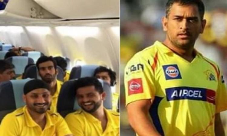 बिना धोनी मुंबई पहुंची चेन्नई सुपरकिंग्स की टीम, फैन्स के लिए बड़ी खबर