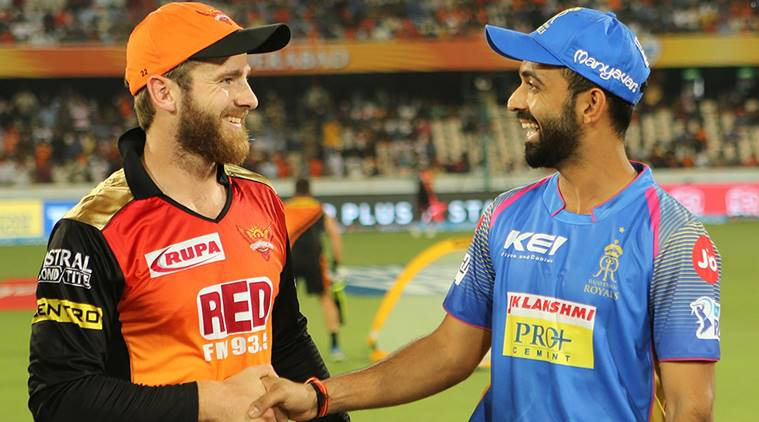 Sunrisers Hyderabad opt to bat vs Rajasthan Royals