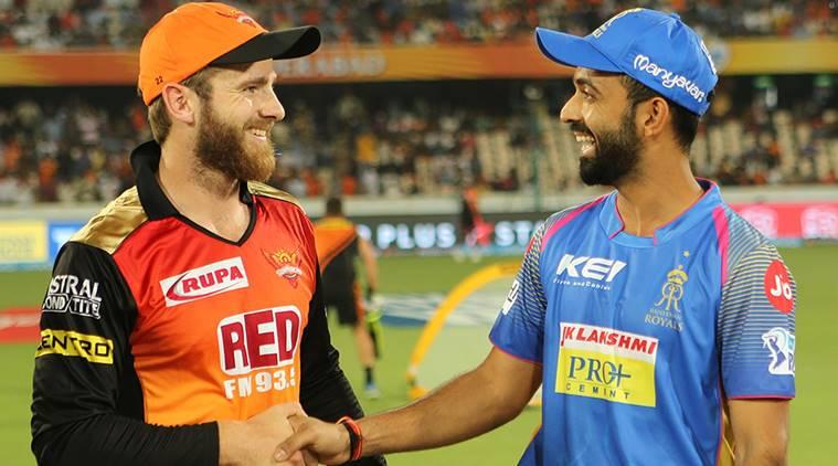 Sunrisers Hyderabad opt to bat vs Rajasthan Royals