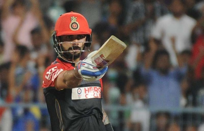 Virat Kohli becomes the first batsman to hit 200 fours at a venue in T20 cricket