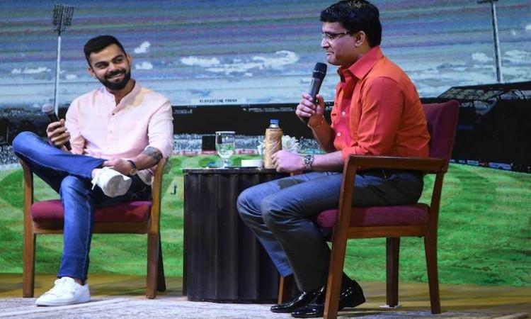 Virat Kohli-Sourav Ganguly