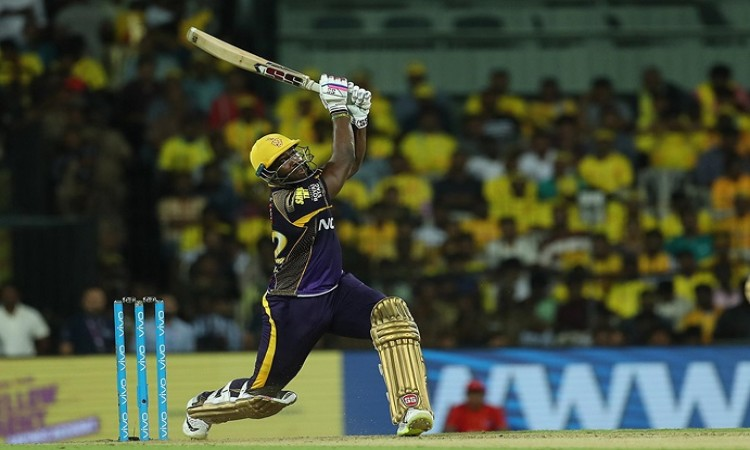 Andre Russell's IPL-best gives KKR 201
