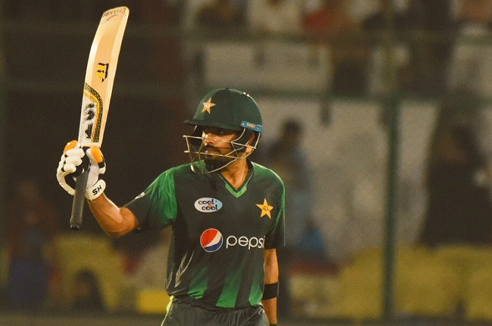 Pakistan  become the first team in T20I history to score 180plus in 4 consecutive matches