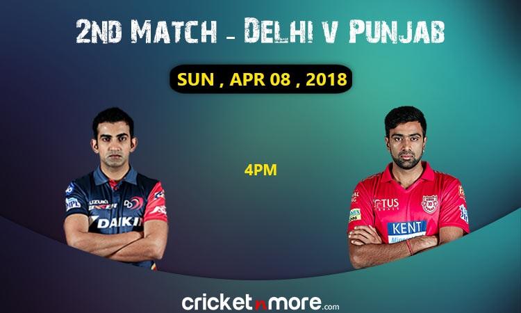Delhi Daredevils probable playing 11 vs kings xi punjab