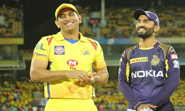CSK opt to field against KKR