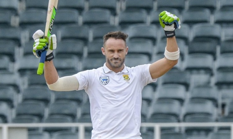 Faf du Plessis golden duck in the 1st inngs followed by 100 in the 2nd