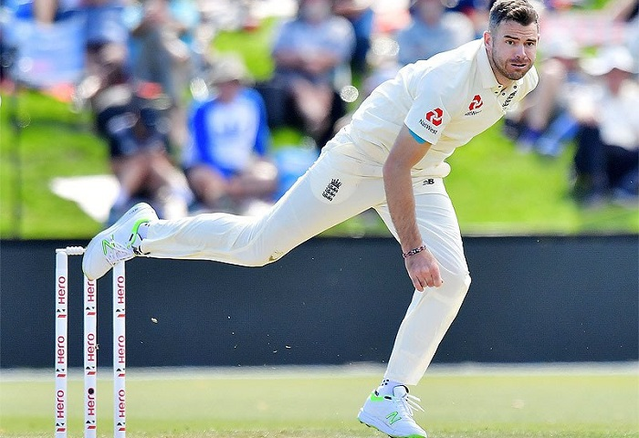 James Anderson has now bowled more deliveries in Test history than any other pace bowler