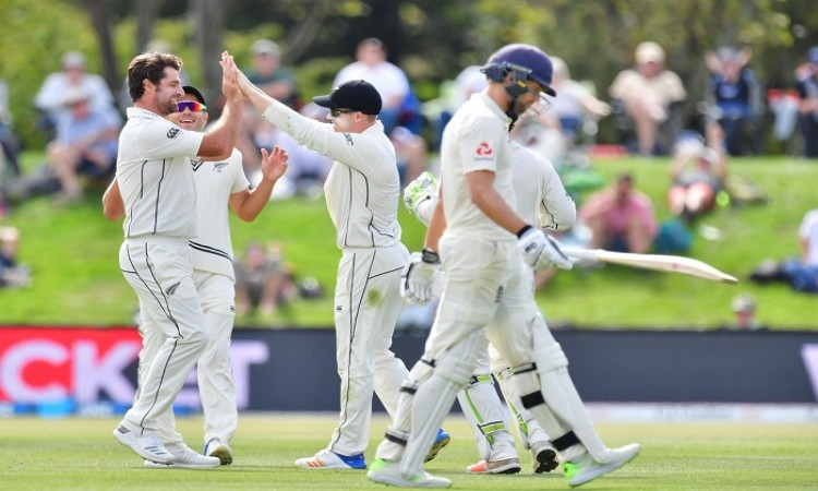 New Zealand off to steady start in chase of 382
