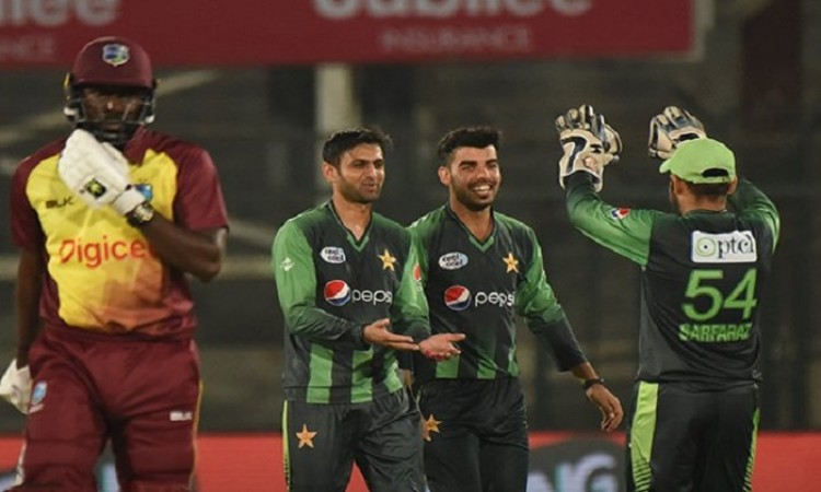 Pakistan beat west indies by 143 runs first t20 international