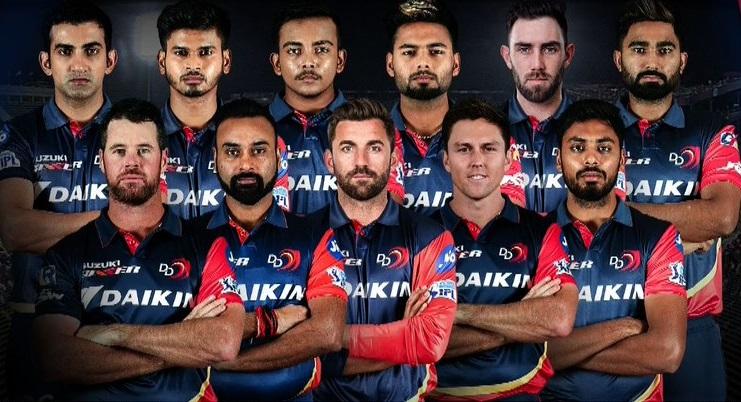 Delhi Daredevils Playing XI vs King XI Punjab