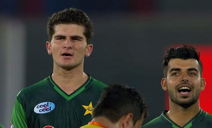Shaheen Shah Afridi second men international cricketer born after 2000