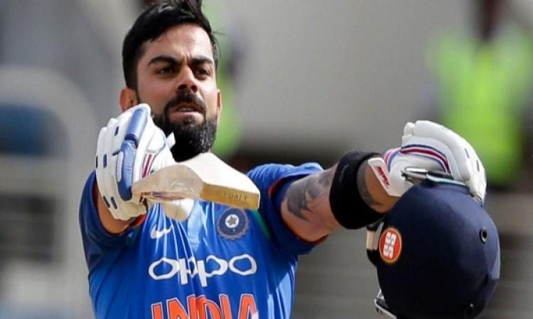 विराट कोहली बने विजडन लीडिंग क्रिकेटर ऑफ द ईयर