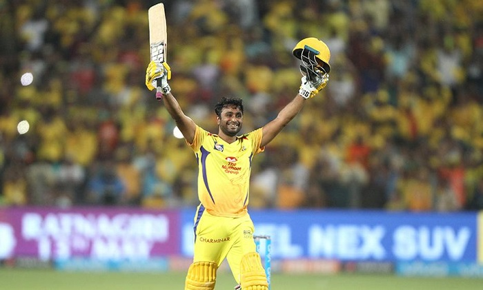 Chennai beat Hyderabad by 8 wickets
