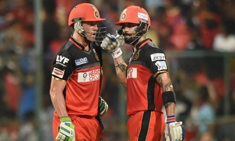 एबी डीविलियर्स और कोहली की आतिशी पारी से पस्त हुए दिल्ली, RCB की 5 विकेट से धमाकेदार जीत Images