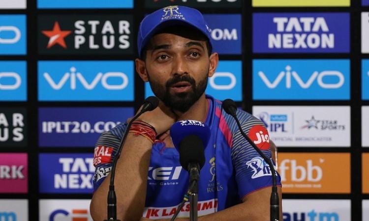 Rajasthan Royals Skipper Ajinkya Rahane