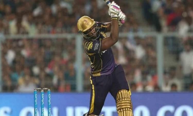 आंद्रे रसेल और दिनेश कार्तिक की बल्लेबाजी के बल पर KKR ने राजस्थान को दिया 170 रनों का टारगेट Images