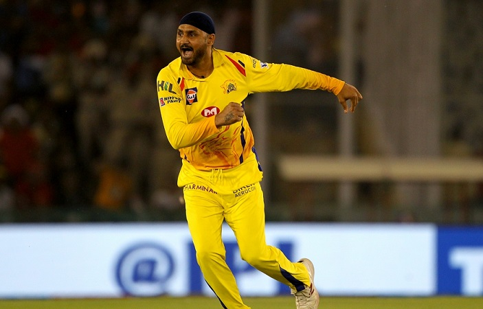 second time in his IPL career that Harbhajan did not bowl a single over in a match