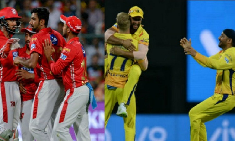 IPL 2018: CSK opted to field vs KXIP