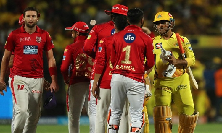 Chennai beat Punjab, Rajasthan become the fourth team to qualify for the playoffs
