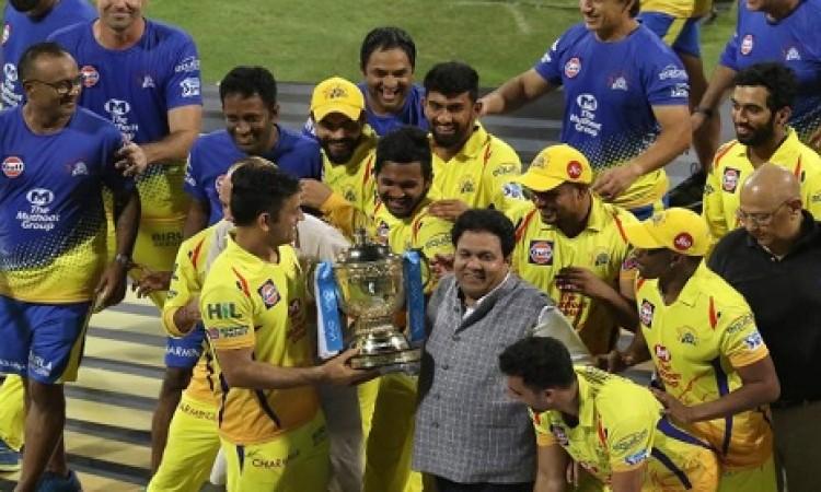 चेन्नई सुपरकिंग्स के खिताब जीतने पर महान गांगुली ने कही दिल जीतने वाली बात, ट्विट कर इस तरह से मनाया