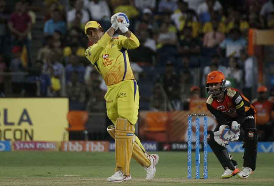 Chennai Super Kings MS Dhoni In Action During An IPL 20181 Images