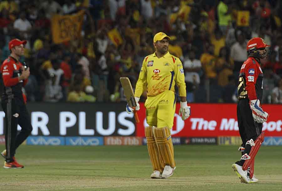 Chennai Super Kings Captain MS Dhoni After Winning An IPL 2018 Images in Hindi