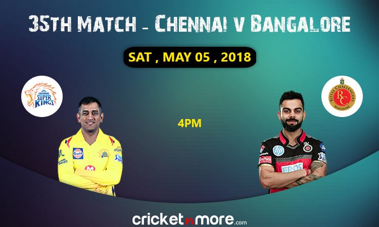 Chennai vs Bangalore