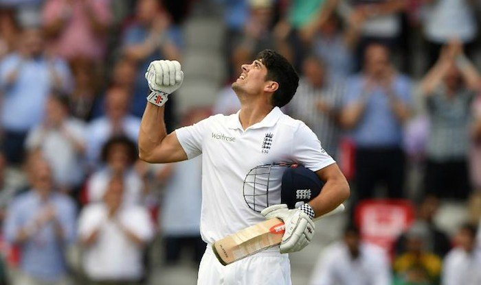 Alastair Cook today equals Allan Border's record