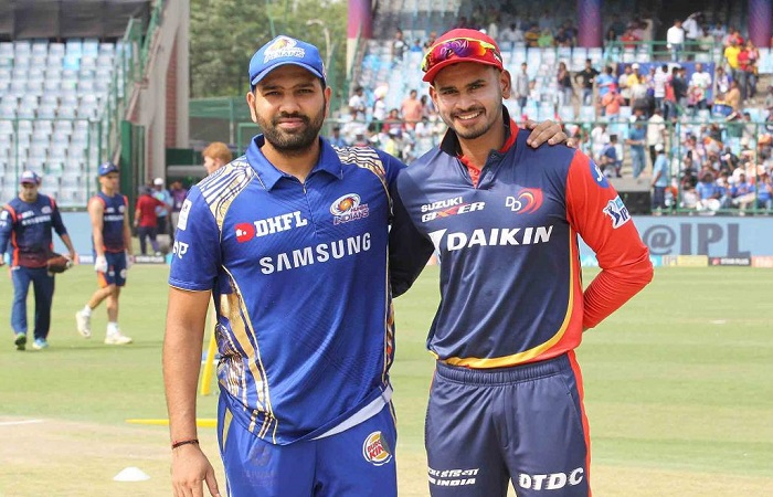 Delhi Daredevils opt to bat vs Mumbai Indians